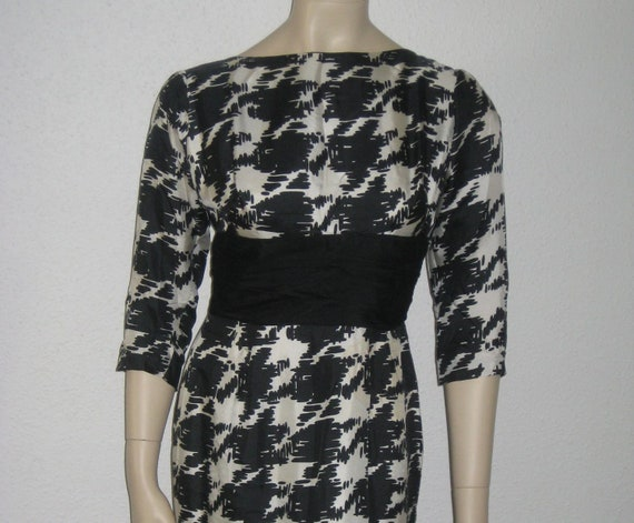 Vintage 50s dress//Hollywood Starlett dress//Mad m