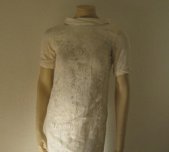 Vintage Mod 1960s dress boho wedding dress