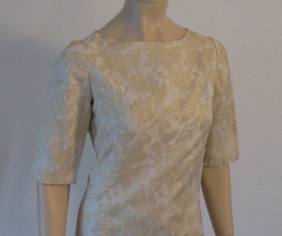 Vintage 60s dress Cocktail dress Mod Shift evening