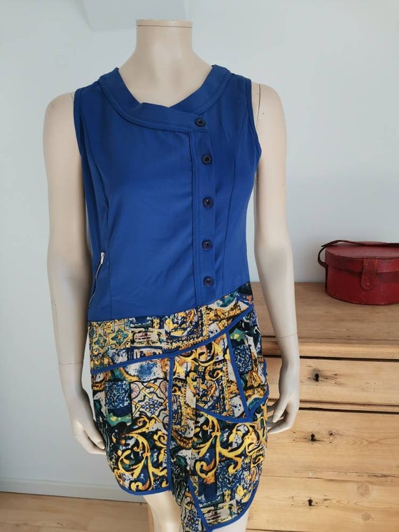Vintage 1960s dress//Mod dress - image 7