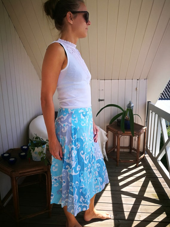 Vintage 1970s skirt//Lovelyt Boho Skirt