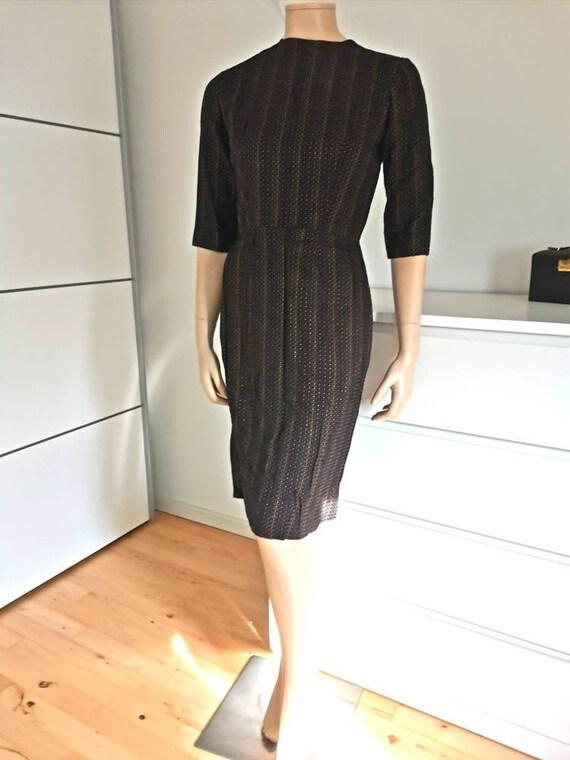 50s vintage dress//Pin up dress