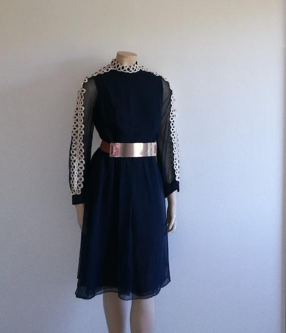 Vintage 50s dress//Mad Men PIN UP Dress