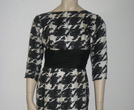 Vintage 50s dress Hollywood Starlett dress Cocktai