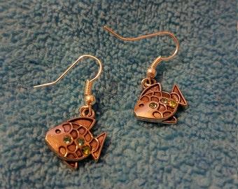 Fishy Friends Hook Earrings