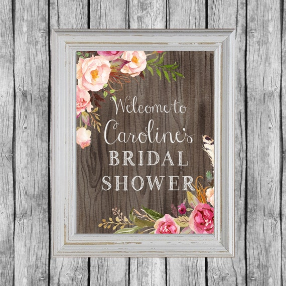 Rustic Door Wedding Ideas: Items Similar To Rustic Bridal Shower Sign. Bridal Shower