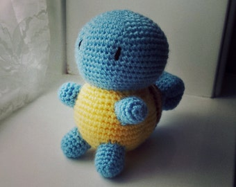 made to order crochet squirtle