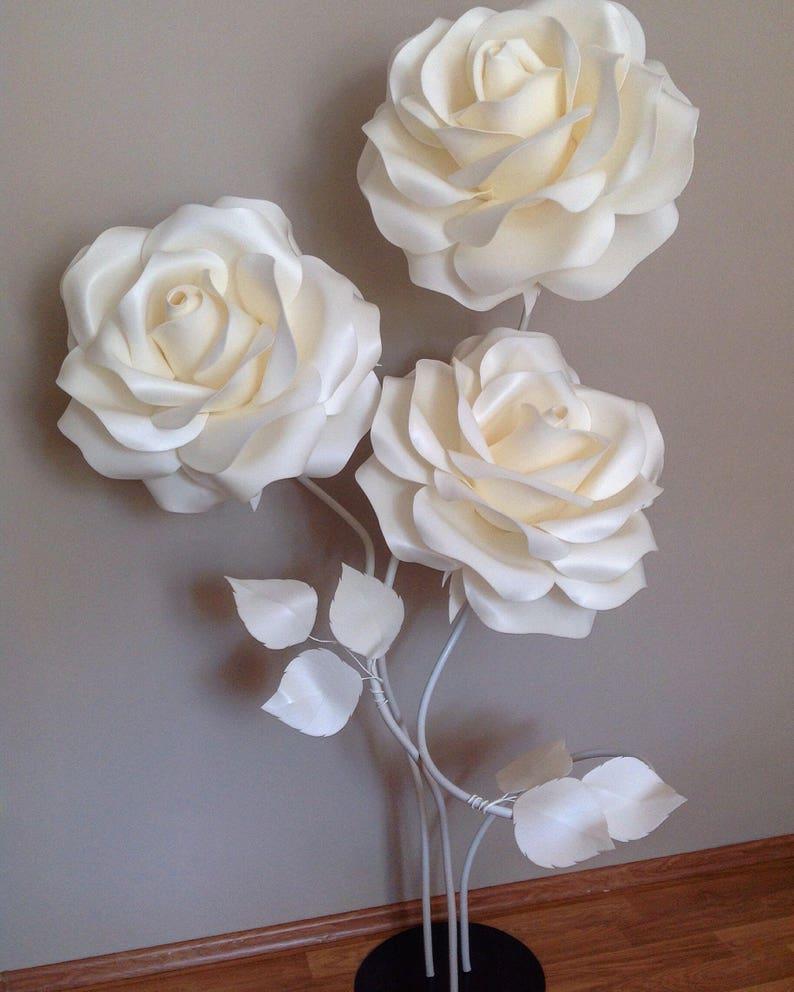 2046bf8138b2 Giant Foam Flower Foam Flowers With Stems Large Paper