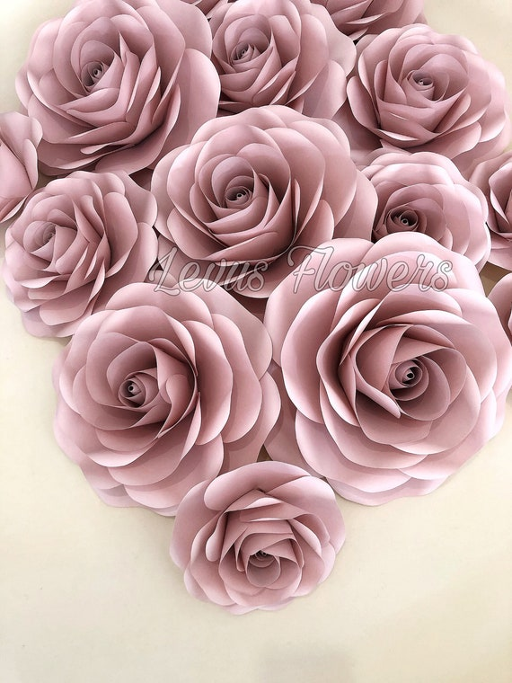 Baby Pink Rose Flowers Wall Hanging on Wood Wood and Flowers Wall Decoration Small Wall Decoration Small Door Hangers Flower Wall Accent