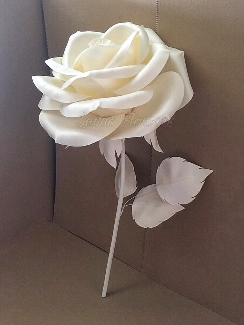 1662b3f7a030 Large Foam Flowers Flowers With Stems Paper Flowers