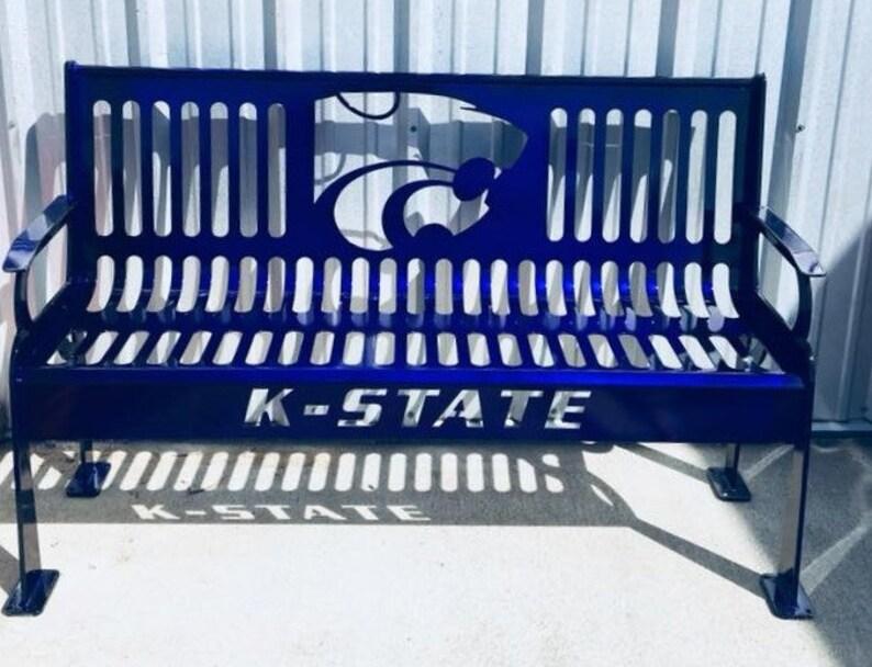 Remarkable Steel Bench Kansas State University Power Cat Pdpeps Interior Chair Design Pdpepsorg