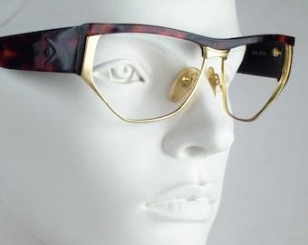 Via Condotti CS19  / Vintage 80s  Eyeglasses / N O S  / made in Italy || art. A
