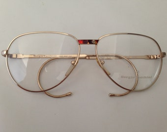 94eec6744187    Sergio Tacchini eyeglasses   Vintage 80 s Aviator Eyeglasses   N O S    Made in Italy