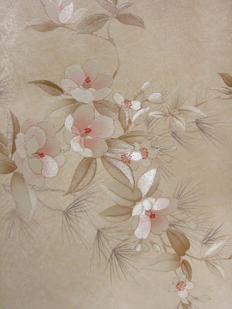 80s Flower Wallpaper Gambar Bunga