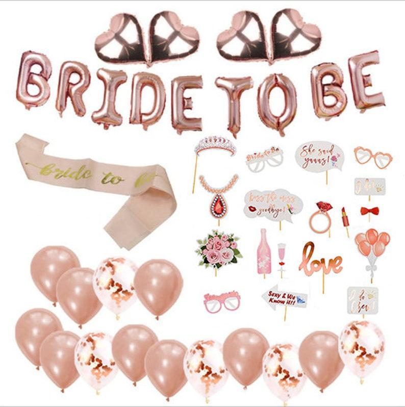 Luftballon Set Folienballon Diamantring JGA Ballon Verlobung Penis Hochzeit gold
