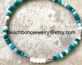 Ankle Bracelets, Anklets For Women, Boho Anklets, Anklets, Beach Anklets, Womans Anklets, Beaded Anklets, Stretch Anklets