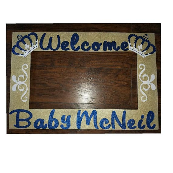 Royal Prince Or Princess Baby Shower Photo Frame And Etsy