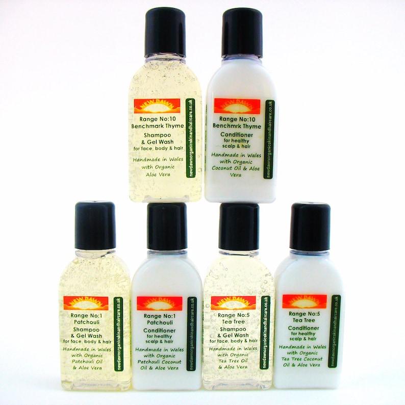 Sore Scalp Shampoo & Conditioner Sample Pack Organic Remedy | Etsy