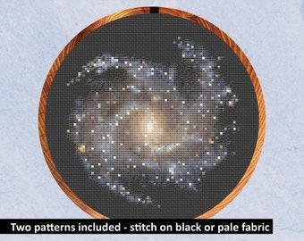 Constellations Cross Stitch Summer Night Sky Cross Stitch Pattern Science Cross stitch Summer Cross Stitch Astronomy Cross Stitch
