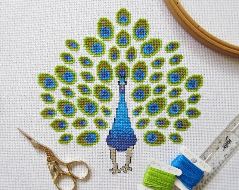 order chart with//without aida /& DMC thread Australian Birds cross stitch chart