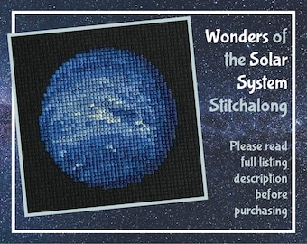 Wonders of the Solar System Stitchalong, Planets SAL - ***please read full description before purchasing***