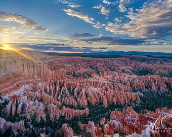 National Parks, Bryce Canyon, Travel Photo, Canvas Print, Home Decor, Scenic Landscape, Fine Art Photography, Large Print Photography