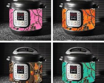 Instant Pot wrap Crock Pot Express Premium non-adhesive waterproof magnetic instapot wra Power Cooker Mermaid pattern 29 Color Combos!