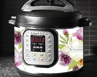 Instant Pot Magnetic Skin - Spring Bouquet (personalized)
