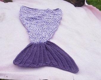 Doux Queue De Sirène Couverture en polaire enfants Cocoon Kid Handmade couvertures Quilt