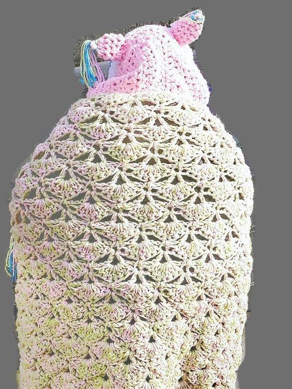 Con capucha buho manta adulto con capucha buho Crochet con | Etsy