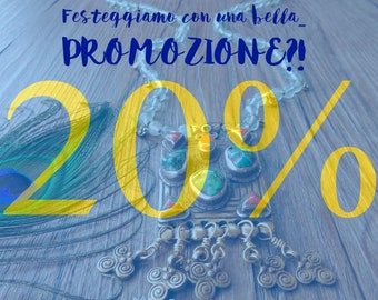 20% promotion on the whole store until September 11, 2021. Discounts!