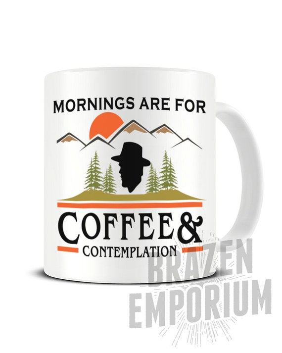 Mornings Are For Coffee And Contemplation Mug Etsy