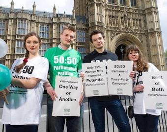 50:50 Parliament T-Shirt