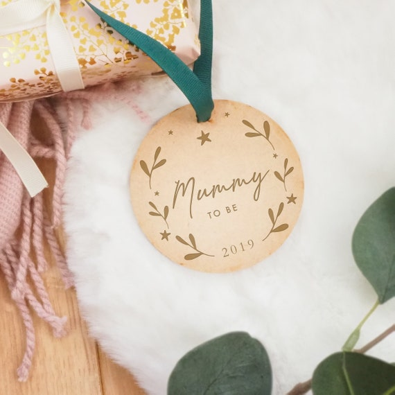 rose gold from the bump pregnancy gift christmas tree bauble mummy to be xmas ornament Bumps 1st christmas daddy to be baby bump