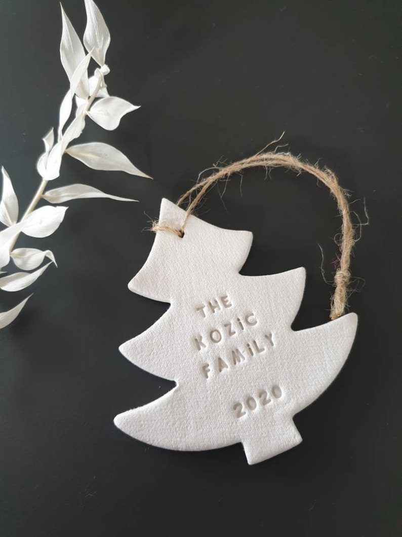 Family Ornament  Christmas Tree Ornament  Personalized image 1