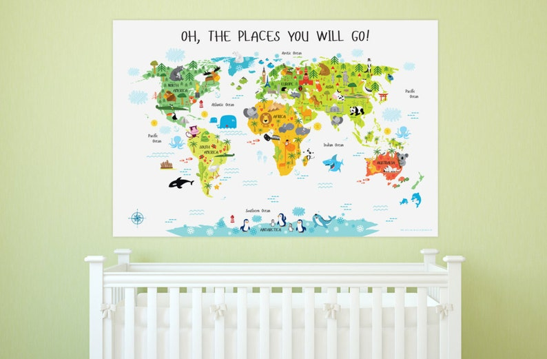 Nursery Decor Nursery Wall Art Nursery Art Nursery Prints image 0