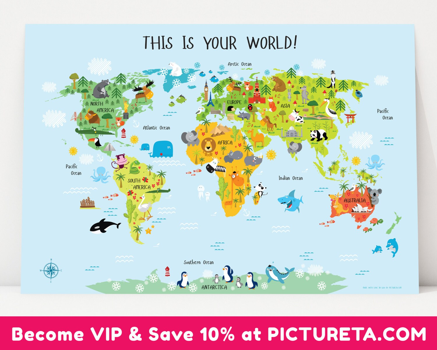 Unique Baby Gift, Children's World Map Poster, Nursery Decor, Playroom on world maps online, beers of the world poster, russia poster, world clock poster, solar system poster, turkey poster, animals poster, online poster, travel poster, water poster, world geography poster, world record poster, cheeses of the world poster, the world is our classroom poster, parrots of the world poster, world history posters, abc's of culture poster, world globe, world wide otaku day,