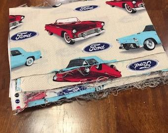 Vintage Car Fabric Etsy