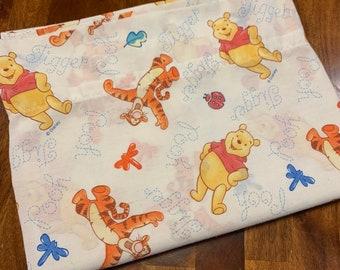 Little Brown Bear Teddy Bear Patchwork Neutral Nursery Baby Cotton Fabric PANEL