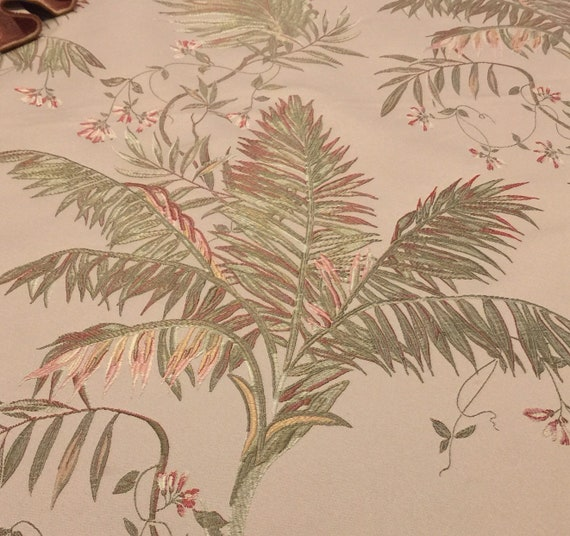 Vintage Brocade Fabric 1 And 2 3 Yd Vintage Upholstery Etsy