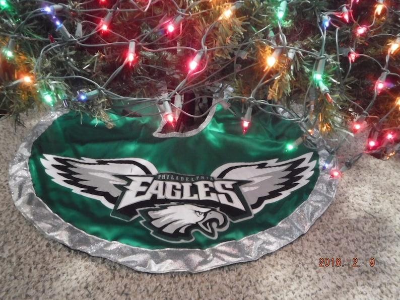 Philadelphia Eagles Football Christmas Tree Skirt  d65a60d91
