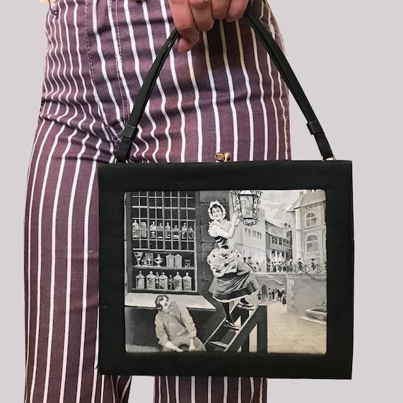 Vintage Novelty Naughty Sexist Peeping Tom street
