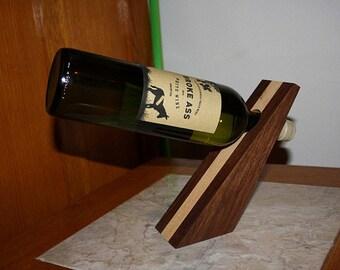 Angled Wine Bottle Holder