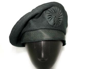a57e273a9c4 1970s green wool beret WOOL BERET