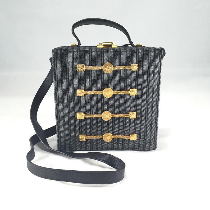 de9af598bb Vintage gianni versace bag
