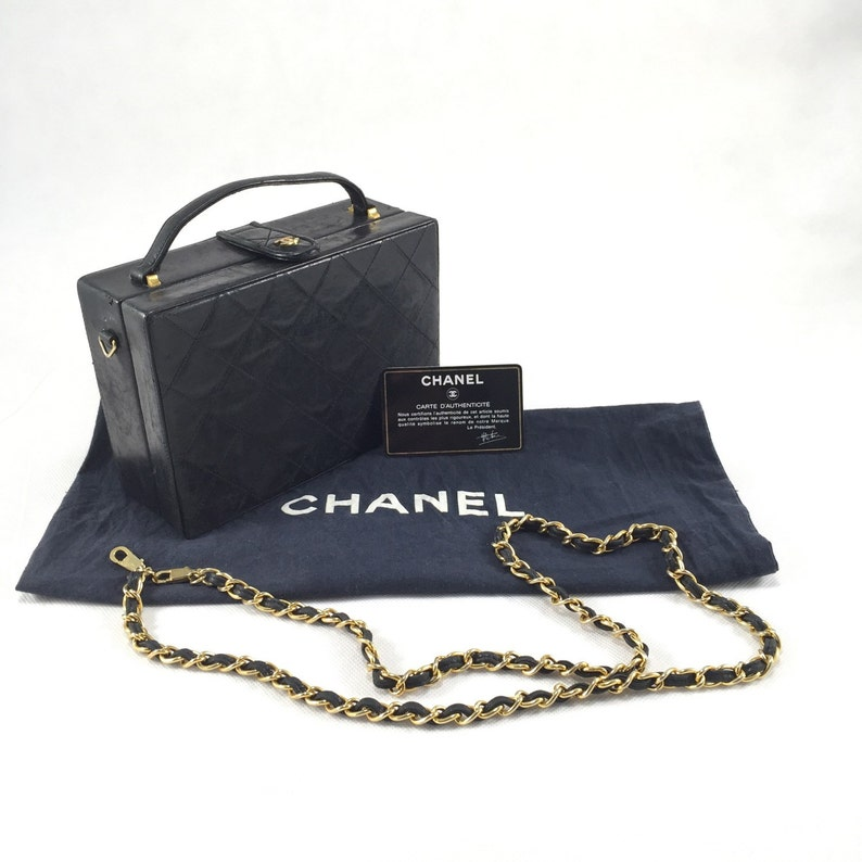 2304225cdcdc Chanel boxy bag from early 80s.