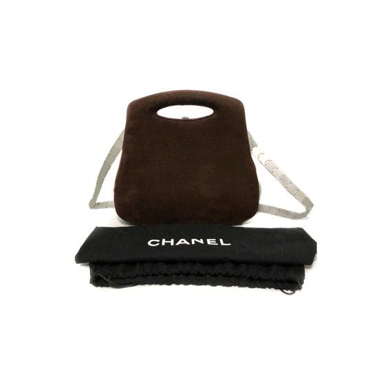Chanel Futuristic Hard case Handbag, Chanel brown