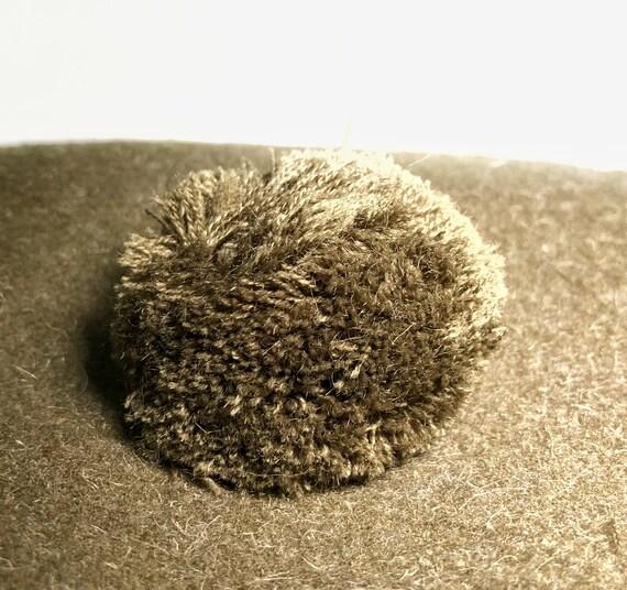 1960s wool green beret - image 7