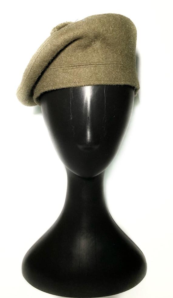 1960s wool green beret - image 2
