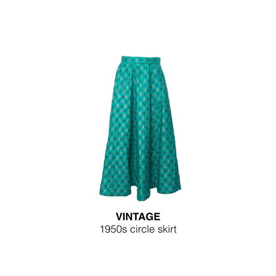 50s Carole Chris Circle Skirt